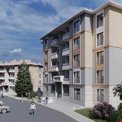 Konya'ya yatay mimarili konutlar