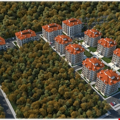 Amasya'ya yatay mimari ile 158 konut