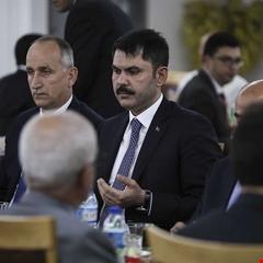 Bakan Murat Kurum, TOKİ'nin iftar programına katıldı