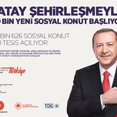 TOKİ'DEN 50 BİN YENİ SOSYAL KONUT