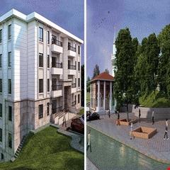 Kayseri'ye yatay mimarili konutlar