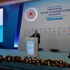 Çevre ve Şehircilik Bakanlığı istişare toplantısı Antalya'da başladı