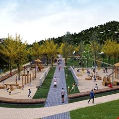 TOKİ'den Rize Güneysu'ya Millet Bahçesi