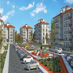 Kırşehir'e yatay mimarili konutlar