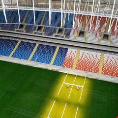 Yeni Adana Stadyumu'nda koltuk montajı tamamlandı