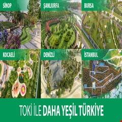 TOKİ ile daha yeşil Türkiye