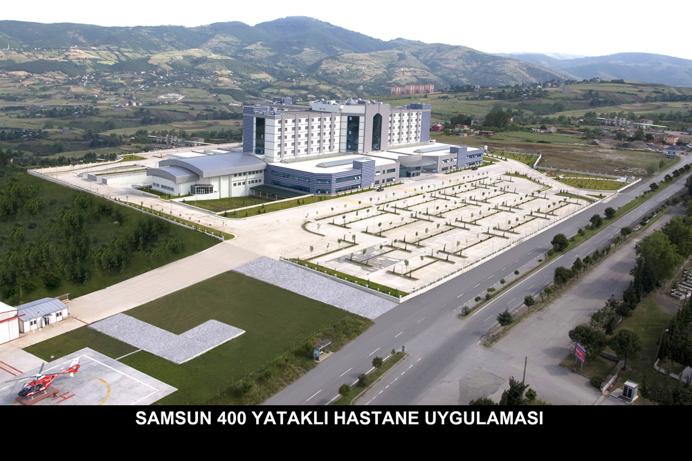 400 Yataklı Hastane