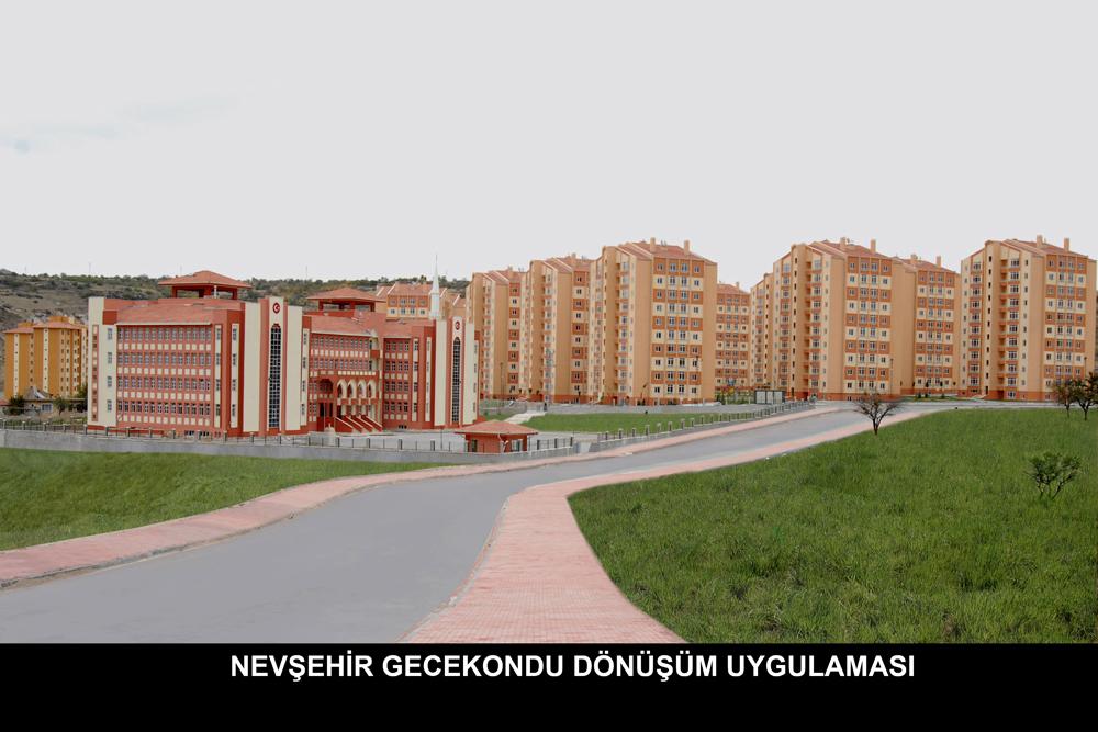 Nevşehir Gecekondu Dönüşüm Uygulaması