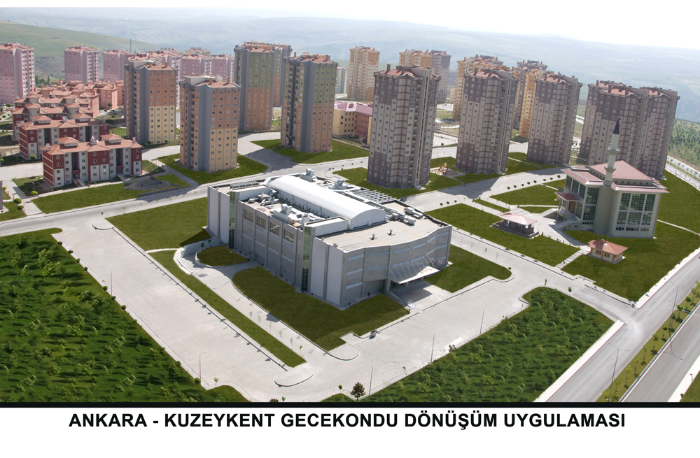 Ankara Kuzeykent Kentsel Dönüşüm Uygulaması