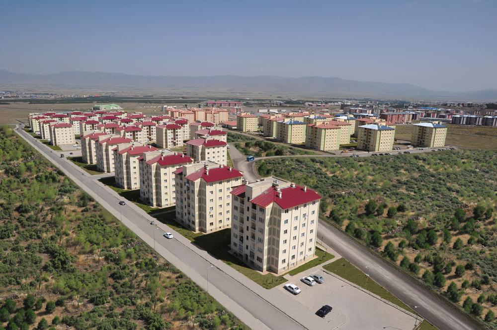 Erzurum Yıldızkent Toplu Konut Uygulaması